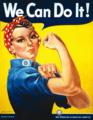 リベット打ちのロージー(Rosie the Riveter)