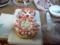友達と作ったカオスな雪だるまケーキ