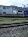 珍しく長崎駅、構内至るところに解り易い龍馬観光客が…