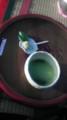 [twitter][旅行]後楽園内のお茶屋さんにてきびだんごを食べる。