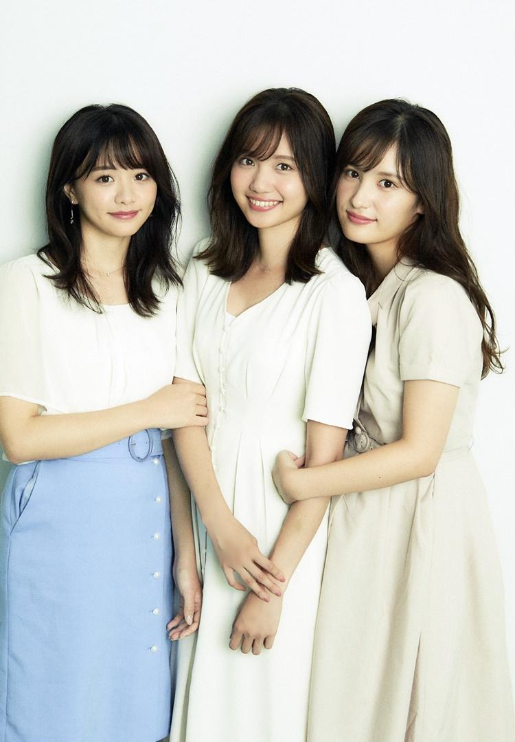 森香澄アナ、田中瞳アナ、池谷実悠アナ