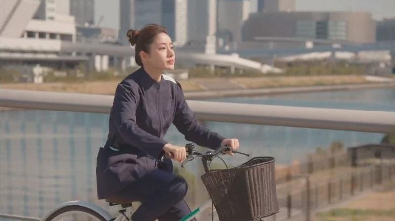 アンサングシンデレラ #2 石原さとみ 自転車