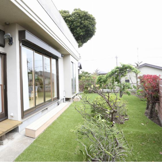 ハウススタジオ ecm yurigaoka 庭