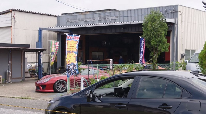 MIU404 #8 自動車整備工場