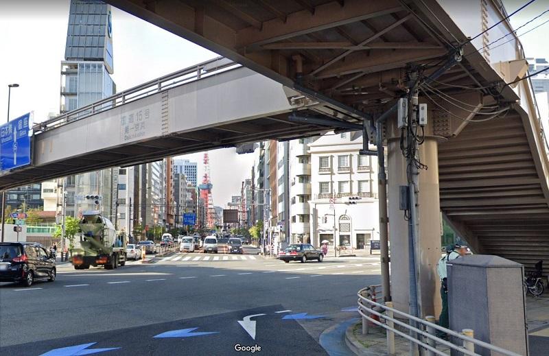 MIU404 #10 ロケ地 札の辻歩道橋