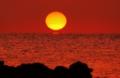 ダルマ夕陽