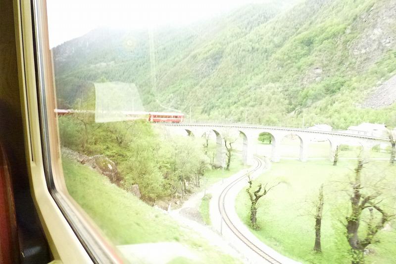 ベルニナ線 車窓