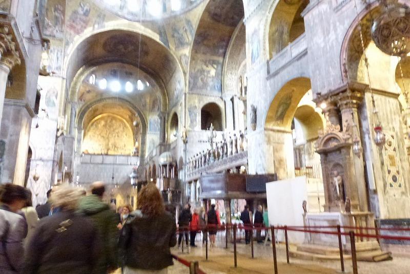 サンマルコ大聖堂 内部