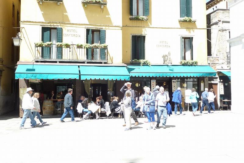 サンマルコ広場 レストラン