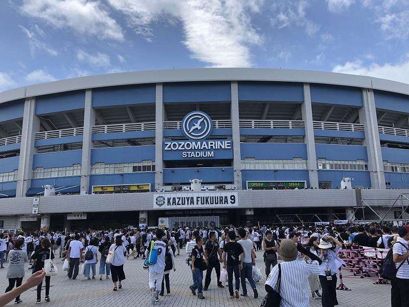 千葉ロッテ 福浦引退試合