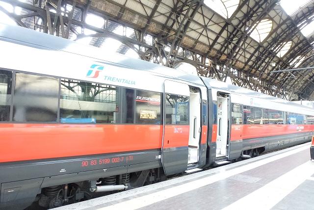 ミラノ→フィレンツェ鉄道
