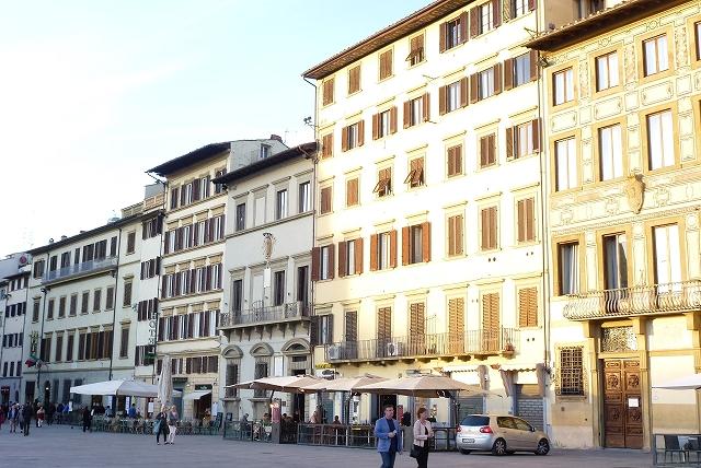 フィレンツェ ホテルロッソ前