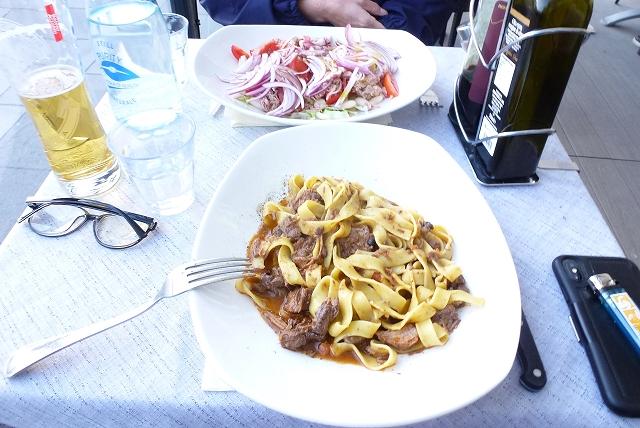 フィレンツェ 夕食