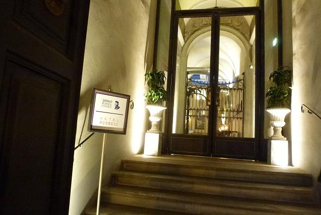 ホテルロッソ入口