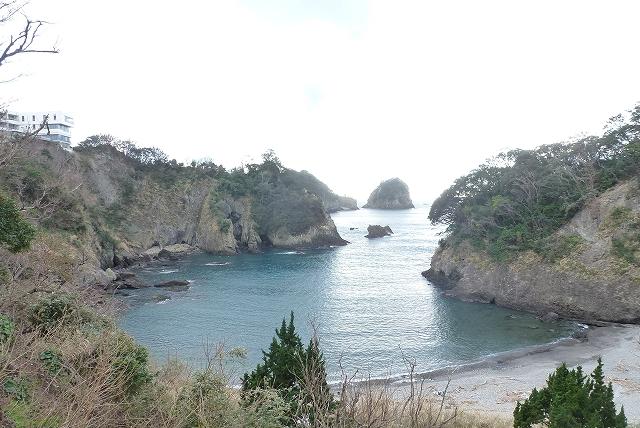 伊豆堂ヶ島 ニュー銀水 プライベートビーチ