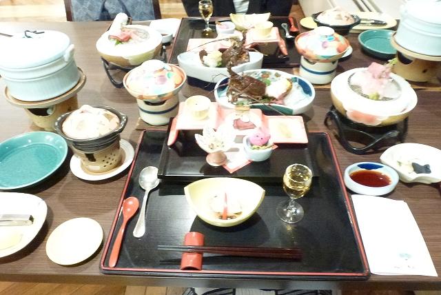 伊豆堂ヶ島 ニュー銀水 夕食