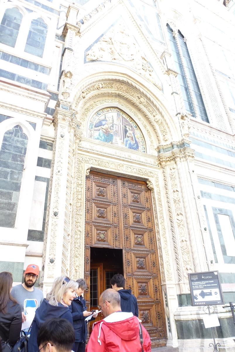 フィレンツェクーポラ入口