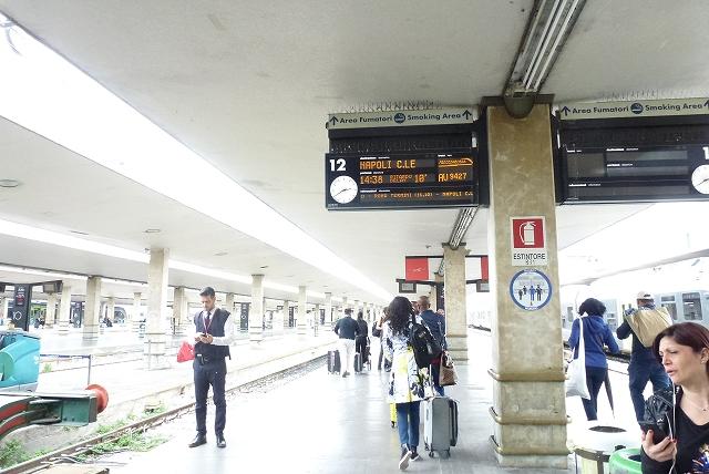 フィレンツェ駅 プラットホーム