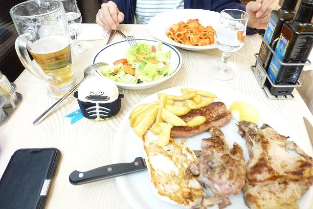 ローマ 夕食