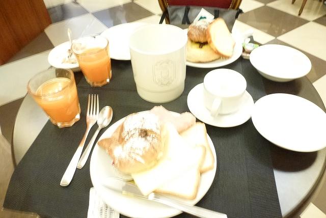 ホテルコンティリア 朝食