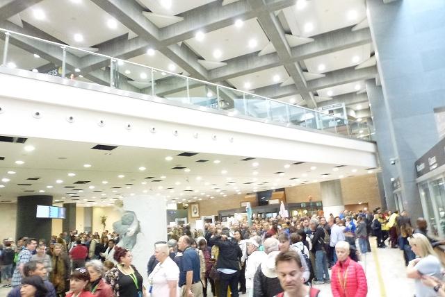 バチカン美術館 入場ホール