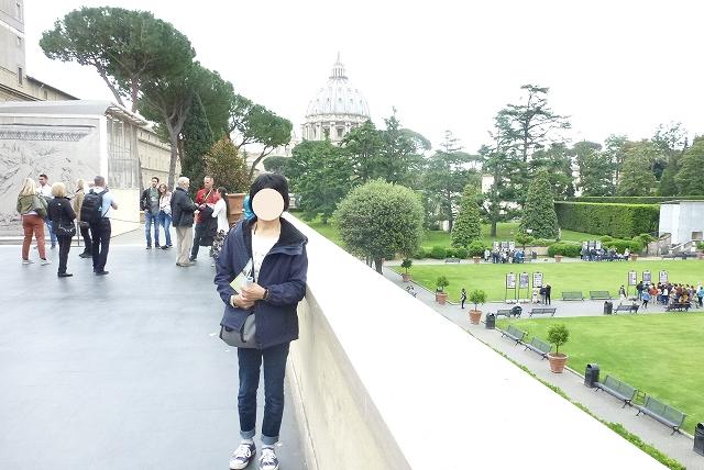 バチカン美術館 中庭