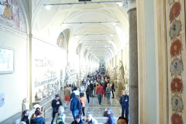 バチカン美術館 通路