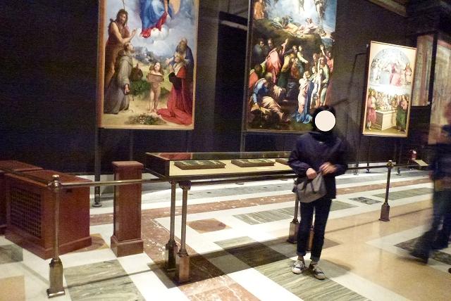 バチカン美術館 美術品