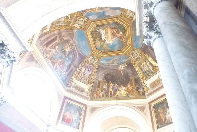 バチカン美術館 天井