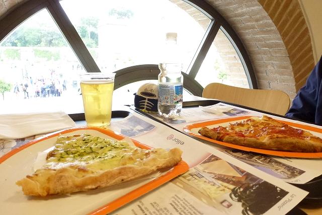 バチカン美術館 ピザ