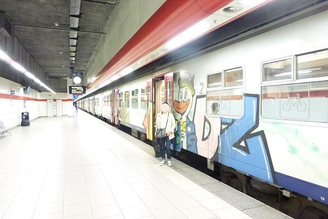 ブリュッセル 列車