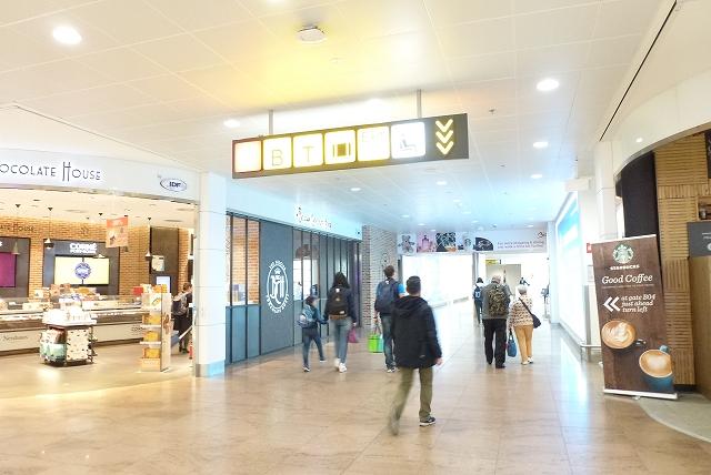ブリュッセル空港 免税品売り場