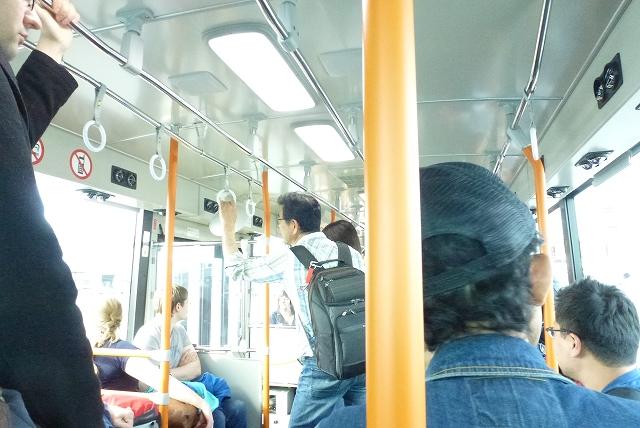 成田 バス移動