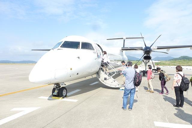 与那国島行き飛行機