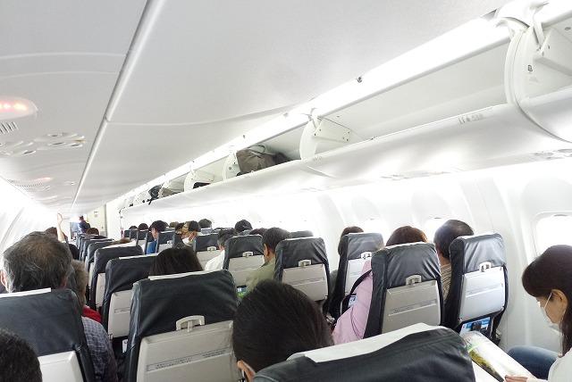 石垣 与那国 飛行機機内