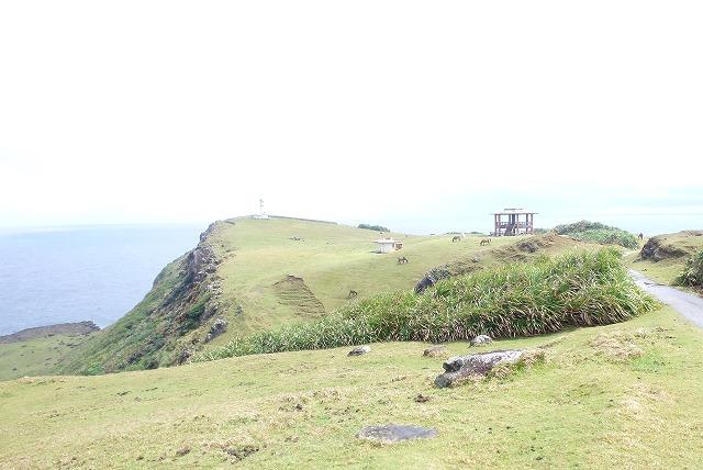 海面から約100mの高さに立ち上がった断崖絶壁の岬 与那国島 東崎