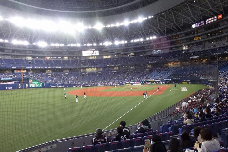京セラドーム ロッテ戦 2020/10/24