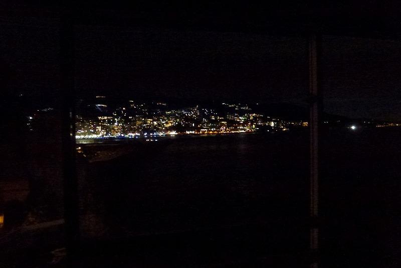 ホテルニューアカオ 夜景