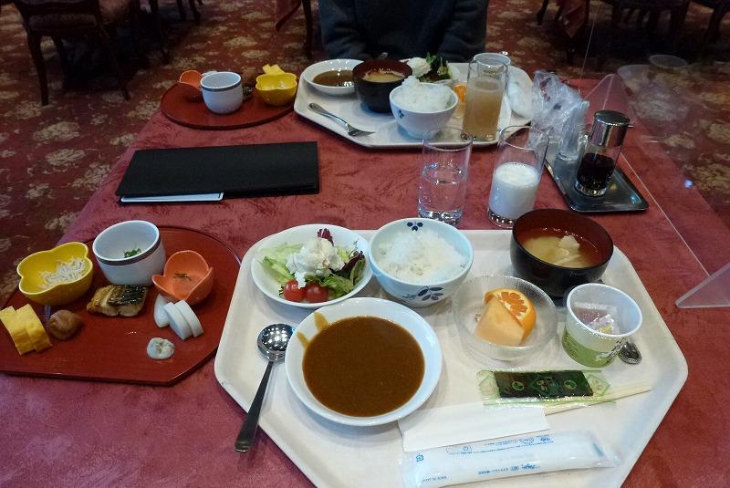 ホテルニューアカオ 朝食 バイキング