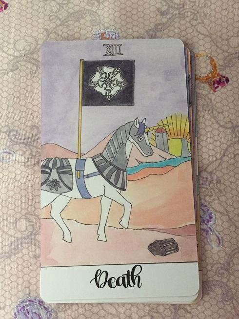 クリスタルユニコーンカード