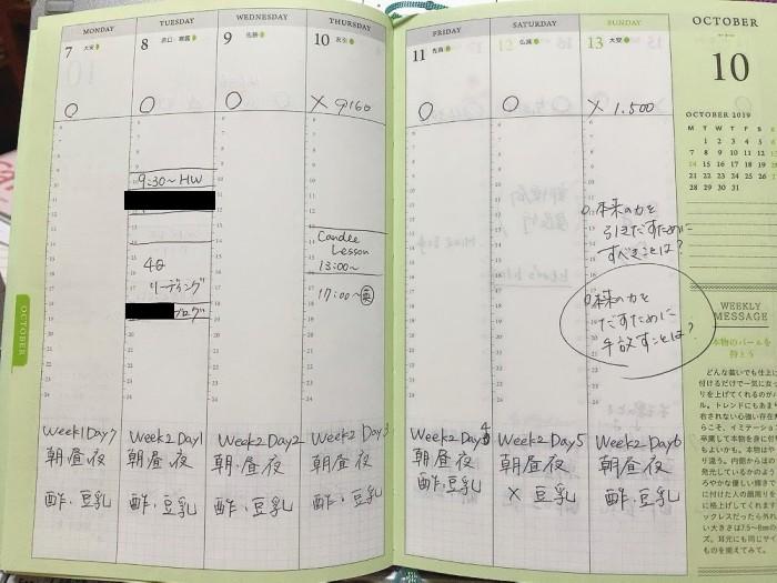 神崎恵さん 手帳 スケジュール帳 レビュー 口コミ 2020年 2021年 ピンク パープル 紫 ターコイズ サイズ 質感