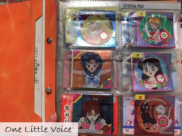 セーラームーン 90年代 アニメ カード おもちゃ シール チョコ