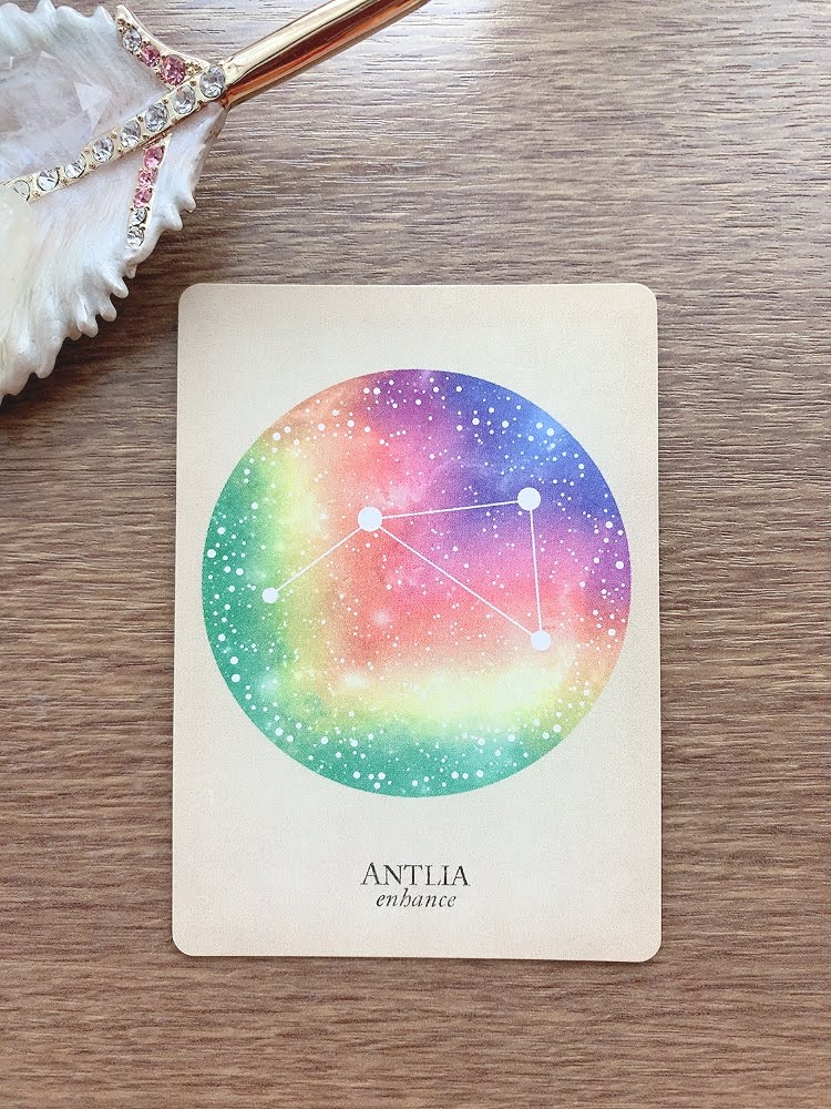 antlia ポンプ座 compendium of constellations 星座 オラクルカード タロット 日本語 解説 enhance 改良する 高める