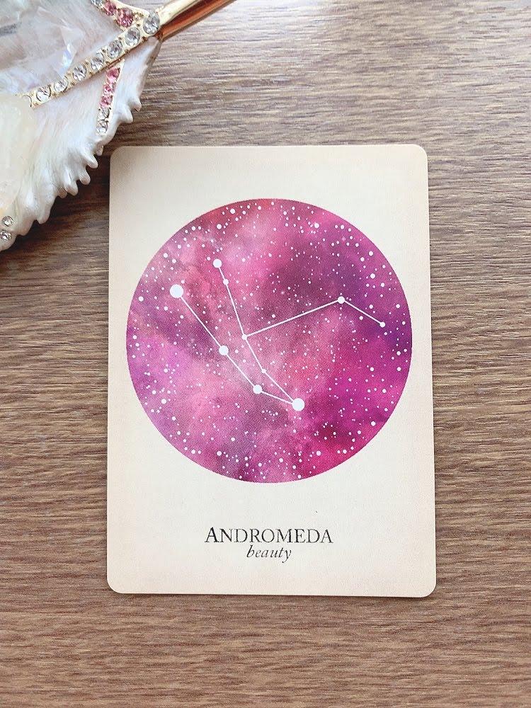 andromeda アンドロメダ座 compendium of constellations 星座 オラクルカード タロット 日本語 解説 beauty 美 美しさ