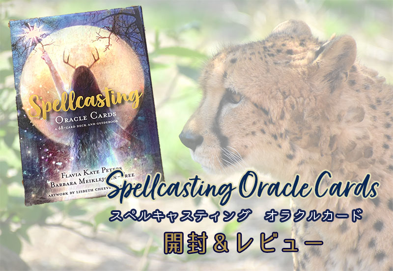 spellcasting oracle cards スペルキャスティング オラクルカード オラクルデッキ レビュー 開封 口コミ 絵柄