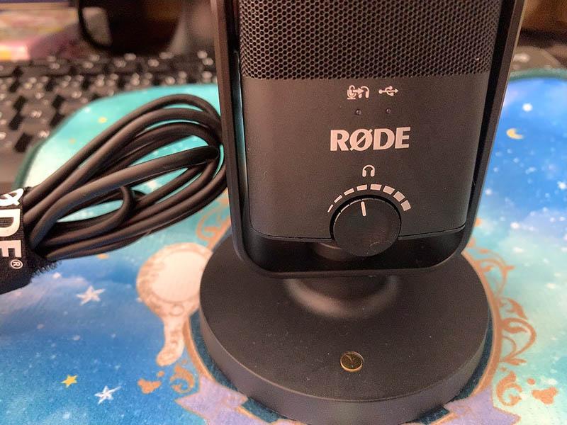 RODE NT USB MINI レビュー 口コミ youtube Zoom skype オンライン会議 面談 カウンセリング 評価 パソコン スマホ タブレット USB TypeC