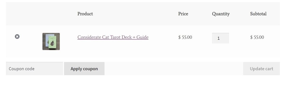 considerate cat tarot 購入方法 コンシダレートキャットタロット カナダ 輸入 安い カード紹介 絵柄