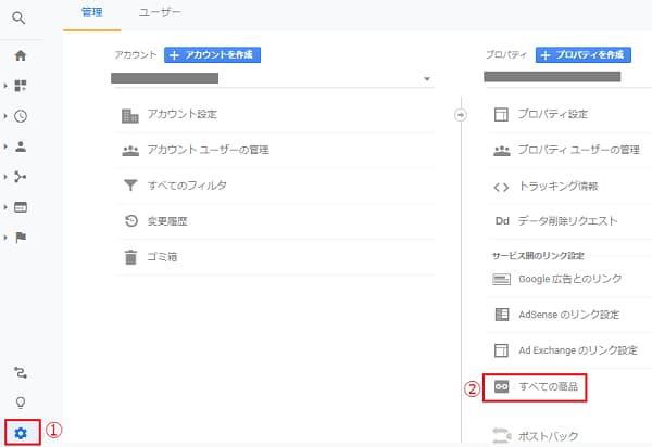 Google アフィリエイトの管理画面
