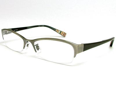 今日受け取ってきた眼鏡♪昔のモデルより弦が太くなって良い。
