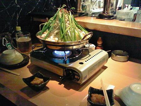数日前に食ったモツ鍋味噌仕立